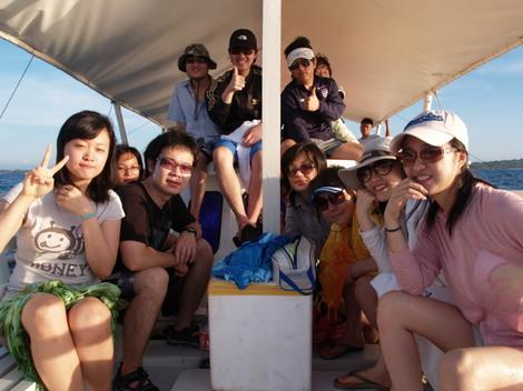 韓国人生徒とボホール島旅行