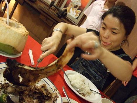 フィリピン・セブ市のシーフードレストランSTK ta Bay