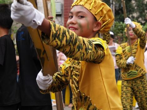 黄色パレード1