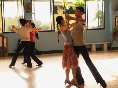セブ市アビリアナの社交ダンス教室