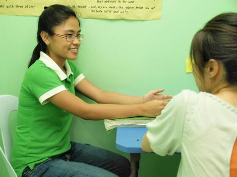 フィリピン留学・セブ留学はマンツーマン授業が充実