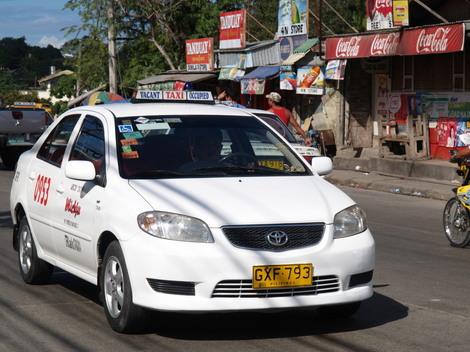 フィリピンセブでの交通手段『タクシー』