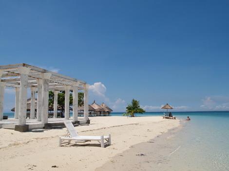 パンダノン島(Pandanon) 小さくて静かなビーチ