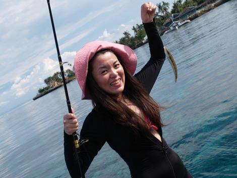 ティンゴー島(Tingo)で釣り