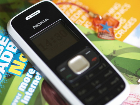 フィリピンで私が使っている携帯電話
