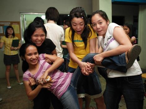 フィリピン英語留学中の写真