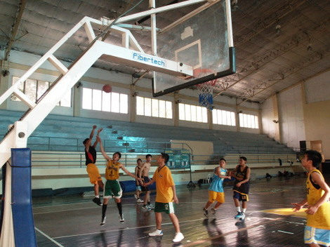 フィリピンで人気のバスケットボール