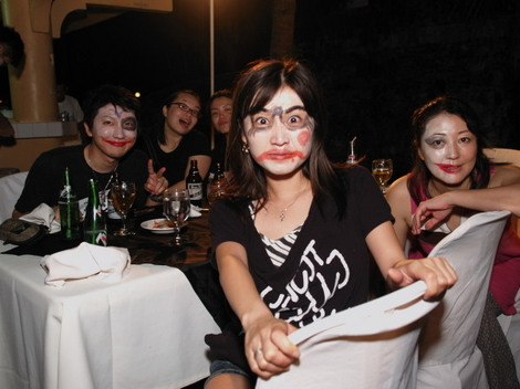 英語学校CELIのハロウィンパーティ