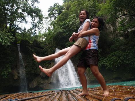 フィリピンへ語学留学中に訪れたモアルボアル